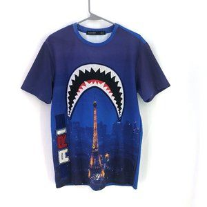 Hudson Outerwear Shirt Shark Paris Royal Blue